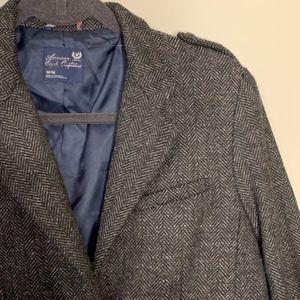 American Eagle Herringbone Cropped Blazer Jacket